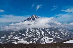 Корякский вулкан на Камчатке