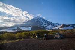 извержения Корякского вулкана