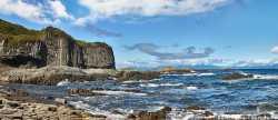 Мыс Столбчатый на Курильских островах