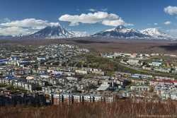Мишенная сопка на Камчатке - любимое место фотографов