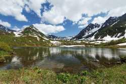 Озеро Тахколоч у горы Вачкажец