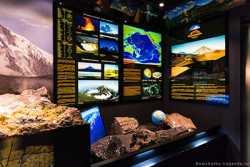 выставка вулканов в музее