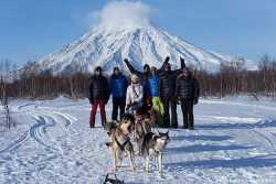 Снежные псы Камчатка