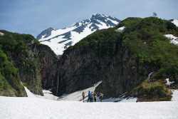 Вилючинский водопад на Камчатке