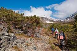 Вулкан Дзензур на Камчатке