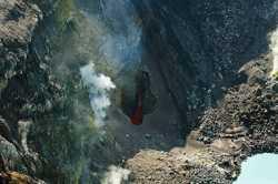 кратеры вулкана Горелый