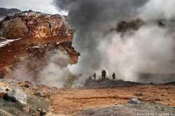 Мутновский вулкан на Камчатке