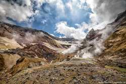 известные извержения вулкана Мутновский