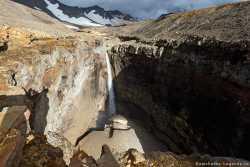 водопад у Мутновской сопки
