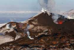 Извержения вулкана Толбачик