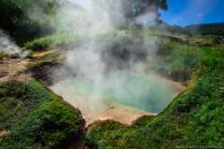 вулкан Ксудач на Камчатке