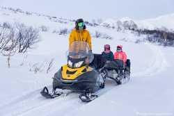 Туры на снегоходах на Камчатке